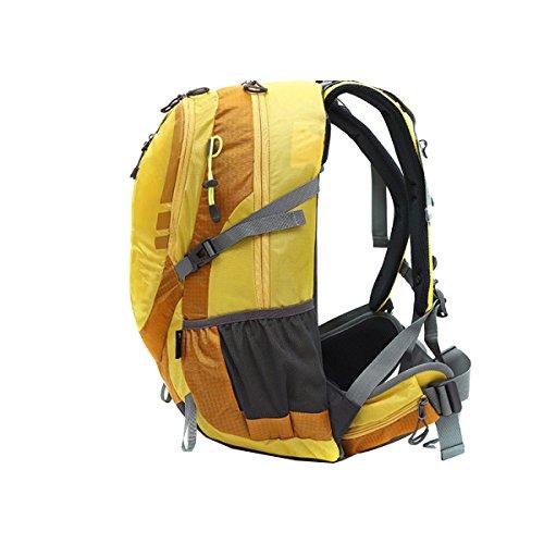 Viajes Viaje Bolsa De Paseo Bolsa De Hombro Bolsa De Alpinismo Al Aire Libre Mochila Diurna Toldo Montañismo Pesca Equitación Mochila Multifuncional Yellow