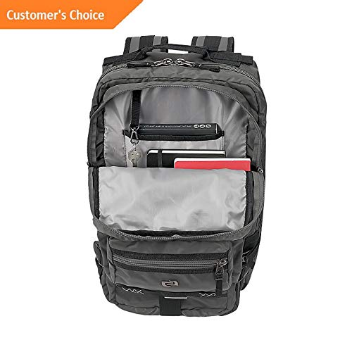 (Sandover SOLO Altitude 17.3 Laptop Backpack 3 Colors Business Laptop Backpack NEW   Model LGGG - 4729  )