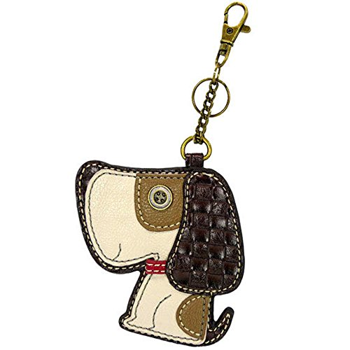 Chala Coin Purse - Key Fob - TOFFEE DOG