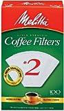 melitta cone 2 - Melitta U S A Inc 622712 No. 2 Cone White Paper Filter, 100 Count