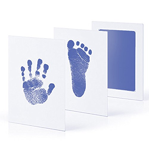 Abracing Newborn Baby Handprint Footprint Inkless Non-toxic Ink Pad Infant Baby Souvenirs
