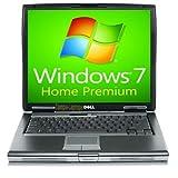 Dell Laptop Latitude D520 Notebook - 1.66GHz - 1GB RAM - 60GB Hard drive DVD+CDRW - Windows 7 Home Premium
