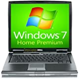 Dell Laptop Latitude D520 Notebook - 1.66GHz - 1GB RAM - 60GB Hard drive – DVD+CDRW - Windows 7 Home Premium