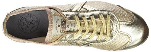 Munich Osaka, Zapatillas para Mujer Dorado (Oro)