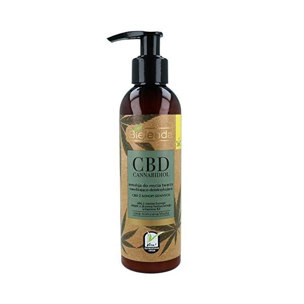 Bielenda HEMP Moisturising & Detoxifying Face Cleansing Emulsion Oily Skin 150g