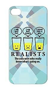 Motivator Funny Realist Satire Demotivator Yellow For Iphone 5s Realtist Motivator TPU Protective Hard Case
