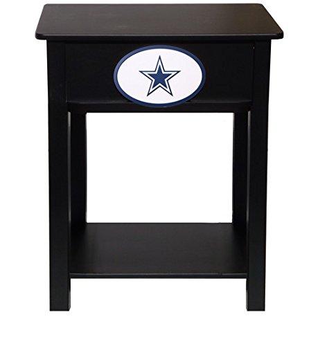 Fan Creations N0533-DAL Dallas Cowboys Nightstand/Side Table