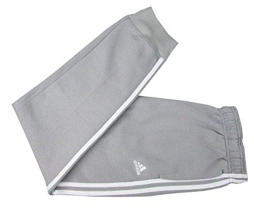 Adidas Men's Essential Cotton Fleece Jogger Sweatpants (Light Grey/White, X-Large) (Adidas Fleece Shorts)