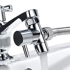 Tecmolog Brass Sink Valve Diverter Fauce...