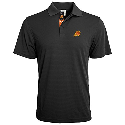 NBA Phoenix Suns Adult men Evolve Team Banner Polo,L,Black