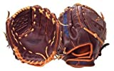 Insignia Awe FastPitch Glove with Woven Web (12.50-Inch, Dark brown)