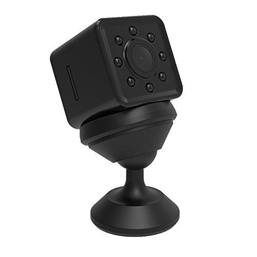 Mini Cámara de Video 2K 1080P a Prueba de Agua con Verdadera Visión Nocturna, Grabación en Bucle, WiFi, Úsala como...