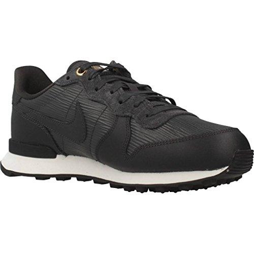 Nike Damen W Internationalistische Premium Sportschoen Zwart (antraciet / Blanc Sommet / Zwart / Antraciet 012)