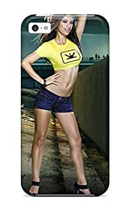 CaseyKBrown Snap On Hard Blur Game Maxim Girl Protector For Ipod Touch 5 Case Cover