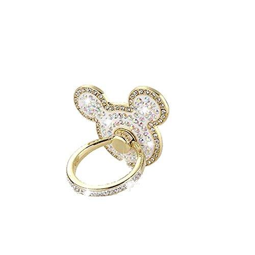 Universal Phone Ring Bracket holder ,UCLL New Design Diamond Cute Luxury Cat shape Crystal Finger Grip Stand Holder Ring Phone Ring Grip Creative Gift (Grip Shapes)