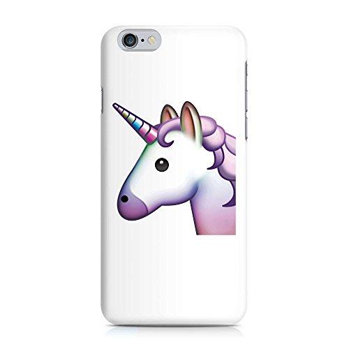 Cover Emoji Smiley Einhorn Unicorn Handy Hülle Case 3D-Druck Top-Qualität kratzfest Apple iPhone 6 / 6S