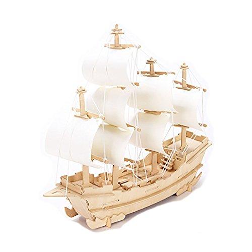 Wooden Boat Kit - 6