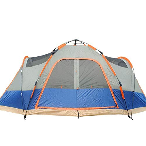 NILINLEI Camping and Hiking Outdoor Pop-up Beach Tents, Large Tents That Can Accommodate 5 People 410 Long X210 Wide…