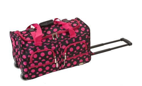 Rockland Luggage Rolling Duffle Black product image