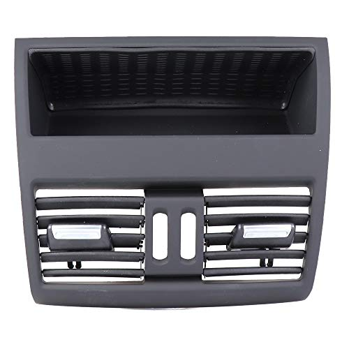 Blue Stones Car Rear Center Console Flow in Fresh Air Outlet Vent Grille Cover Air Conditioner Vent Protective for BMW 5 F10 F11 F18