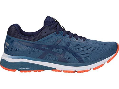 ASICS Men's GT-1000 7 Running Shoes, 10M, Grand Shark/Peacoat (Best Support Running Shoes 2019)