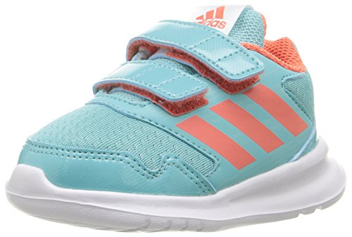 Price comparison product image adidas Performance Girls' Altarun CF I Sneaker, Easy Mint/Easy Coral/Ocean, 10 M US Toddler