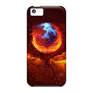 Protection Case For Iphone 5c / Case Cover For Iphone(space Mozilla)