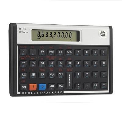 Financial Calculator, 5-1/10 quot;x3-1/10 quot;x3/5, Platinum by HP