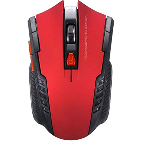 2.4ghz Wireless Mouse Optical Game Mouse with USB Receiver, Suitable for Laptop, Desktop Computer