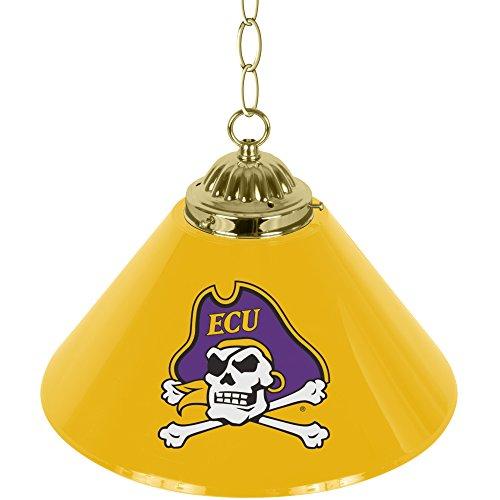 East Carolina Pirates Lamp - NCAA East Carolina University Single Shade Gameroom Lamp, 14