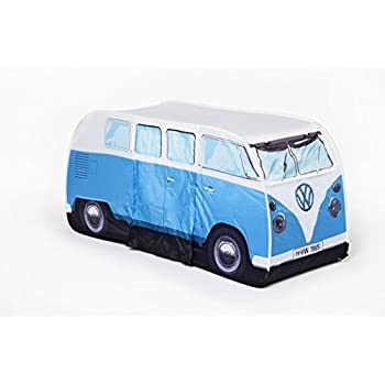 VW Volkswagen T1 C&er Van Kids Pop-Up Play Tent - Blue - Multiple Color  sc 1 st  Amazon.com & Amazon.com: VW Volkswagen T1 Camper Van Kids Pop-Up Play Tent ...