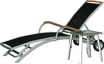 IB Style   DIPLOMAT Designliege Set | 5 Kombinationen | 2 Farben | Alu  SILBERMATT