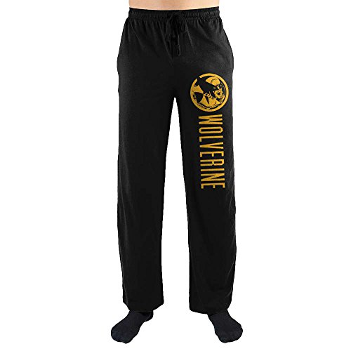 Marvel Comics Wolverine Print Men's Lounge Pants Large
