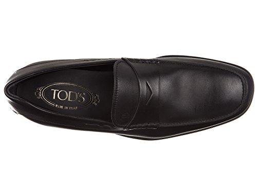 Tod's mocasines en piel hombres nuevo quinn negro