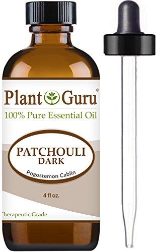 Patchouli Essential Oil (Dark) 4 oz. 100% Pure Undiluted Therapeutic (Patchouli Dark Essential Oil)