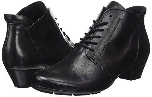 Gabor 27 Para Shoes Schwarz Botas Basic Negro Mujer rqrHA