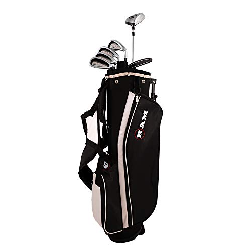 RAM Golf SGS Ladies Right Hand Golf Clubs Starter Set w/Stand Bag -Steel Shafts