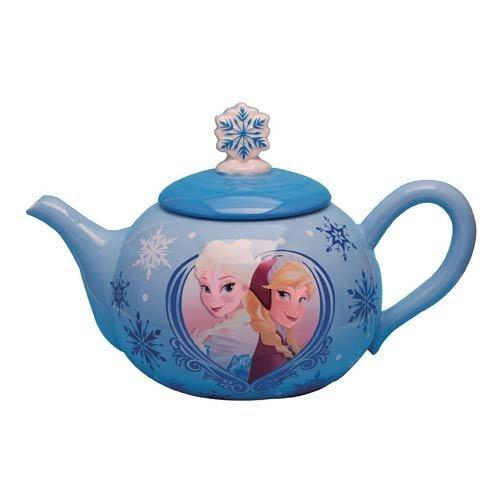 Westland Giftware Ceramic Teapot, Disney Frozen Elsa & Anna, 36 oz, - Teapot Disney