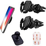 4 Pack Car Mount, Air Vent Car Phone Holder, Car Mount Cable Holder, Easy GPS Navigation Calling Operation