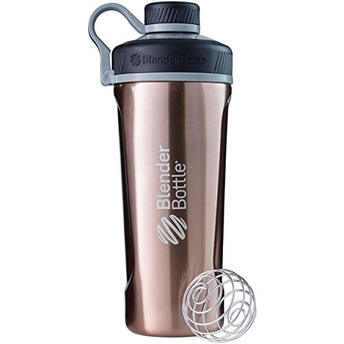 BlenderBottle Radian Insulated Stainless Steel Shaker Bottle, Copper, 26-Ounce - C02092