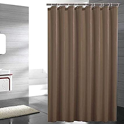 Amazon.com: Eforgift Modern Solid Polyester Shower Curtain Mold ...