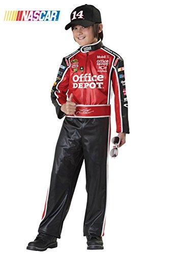[Mememall Fashion Nascar Tony Stewart Speed Racer Child Costume] (Nascar Tony Stewart Costumes)