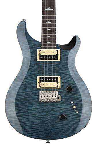 PRS Paul Reed Smith SE Custom 22 Electric Guitar with Gig Bag, Whale Blue
