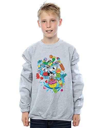 Teen Dc Candy Go Sweat Titans Sport shirt Gris Mania Garçon Comics aOwgxqOfU
