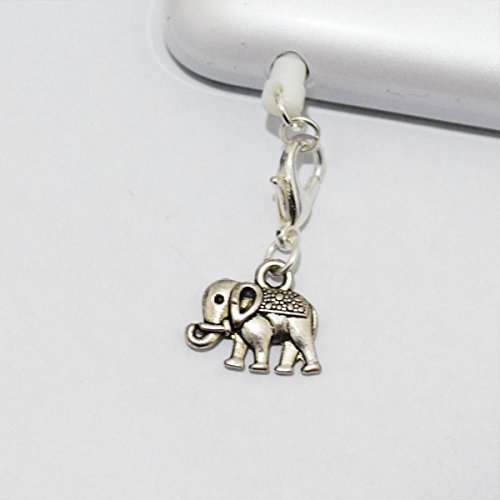 Elephant Cell Phone Charm, Elephant Dust Plug-3.5mm, Unique Cell Phone Charm, Headphone Jack Charm , Phone Charm Dust Plug,charm Dust Plug for Iphone 3,iphone4,iphone 4s ,Iphone 5,iphone 5s,iphone 6, Samsung S3,samsung S4, Samsung S5 ,Note 2,note 3, Ipad 2,ipad 3,ipad 4,ipad 5 Nokia,htc One M7, Ipad Mini Dust Plug (Headphone Jack Charms Iphone6 compare prices)