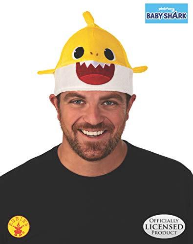 Costume Hats Wholesale (Rubie's Kids' Little Baby Shark Hat, Yellow, One)