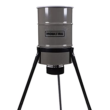 Moultrie Pro Magnum Tripod Deer Feeder, 55 gallon