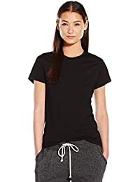 Women's Basic Short Sleeve Crew Neck Tee