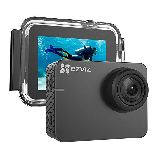 EZVIZ 4K Action Camera 131ft Waterproof Housing Included 2