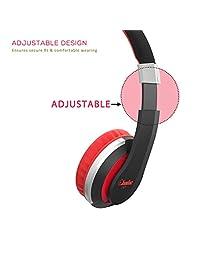 Elecder i41 - Auriculares infantiles plegables y ajustables con clavija de 0.138 in para iPad, teléfonos móviles, ordenadores, MP3 4, Kindle Airplane School